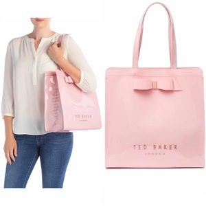 💕 Ted Baker London large pink Bow Icon Tote 💕